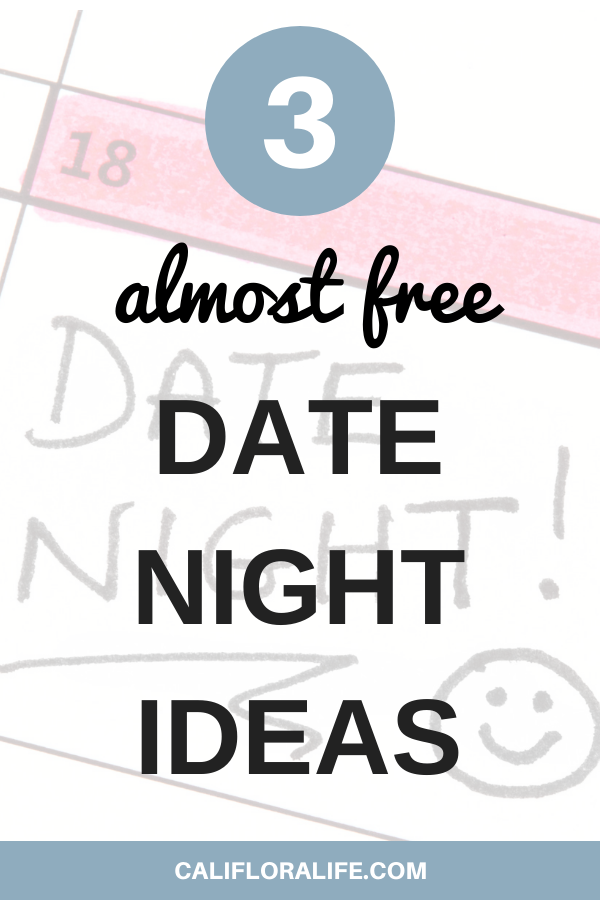 3 almost free date night ideas